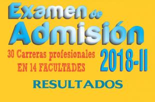 resultados examen admisión unap 4 de marzo del 2018