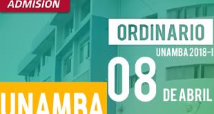 Resultados examen de admision UNAMBA 08 de abril del 2018