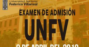 Resultados examen admision UNFV 8 de abril del 2018