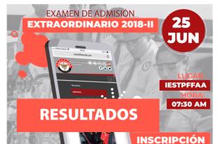 instituto fuerzas armadas resultado examen de admision