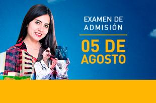 Resultados examen de admisión UPLA 5 de agosto del 2018
