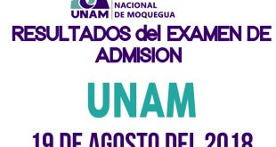Resultados examen de admision 2018 II UNAM 19 de agosto del 2018