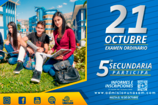 Resultados examen de admisión UNASAM 21 de octubre del 2018